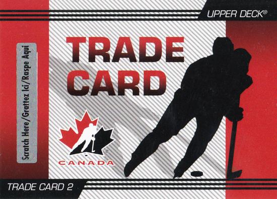 Upper Deck announces Trade Cards for Team Canada release