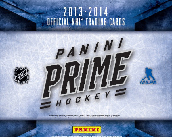 Pack Preview: 2014 Panini Prime Hockey