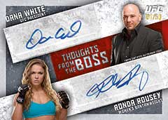 Pack Preview: 2015 TOPPS UFC KNOCKOUT