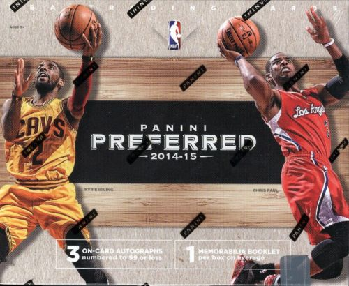 2014-15 Panini Preferred Swish Booklets