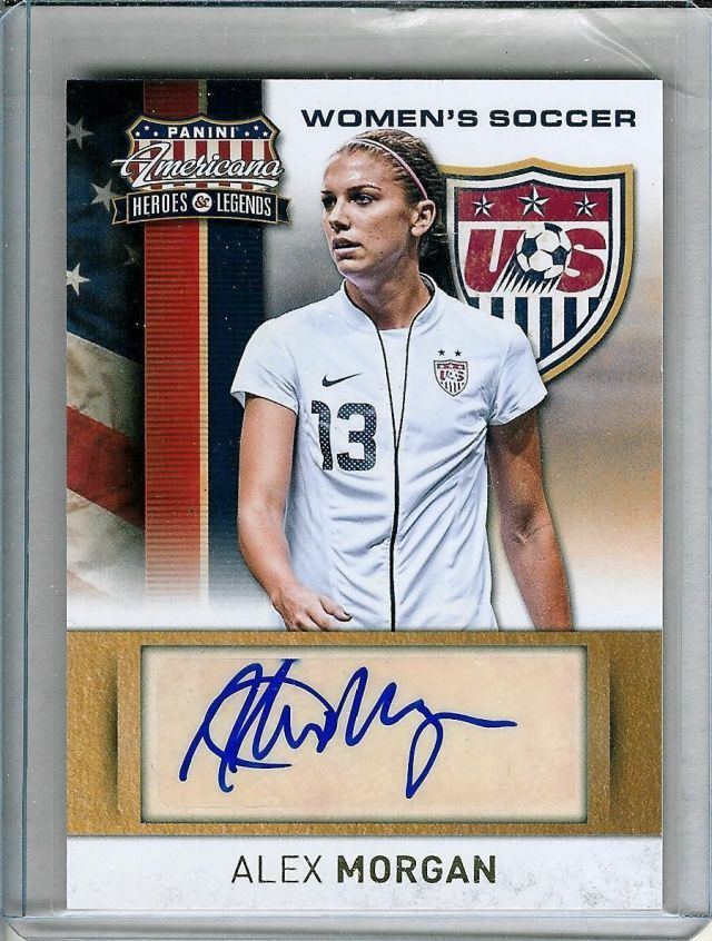 Top 2015 FIFA U.S. Women's World Cup Autographs