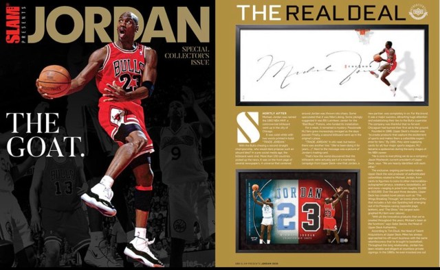 SLAM Magazine, Upper Deck Release Jordan Collector's Edition Magazine