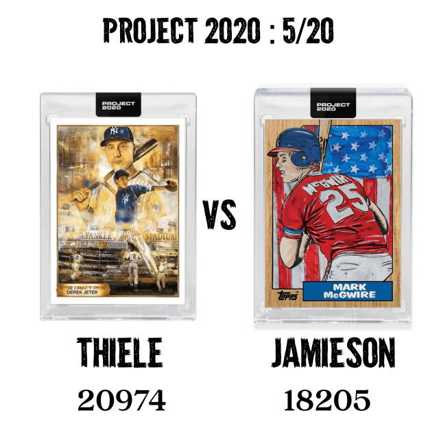 Topps Project 2020: 5/20 Print Runs