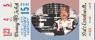 2011 Press Pass Winning Tickets Dale Earnhardt Sr