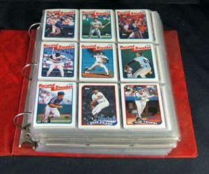 1989 Topps Baseball Complete Set In A Binder