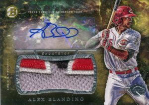 2016 Topps Inception Alex Blandino Auto