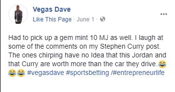 Vegas Dave Fraudulent Psa Michael Jordan Rc Card Sports