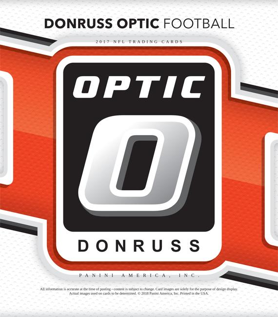 3e0d7f3ead9 2017 Donruss Optic Football Box Checklist - Sports Card Radio