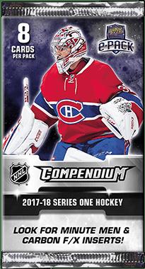 Verzamelingen 2017-18 Upper Deck Compendium Blue 285 Rookies Dan Renouf Detroit Red Wings Card