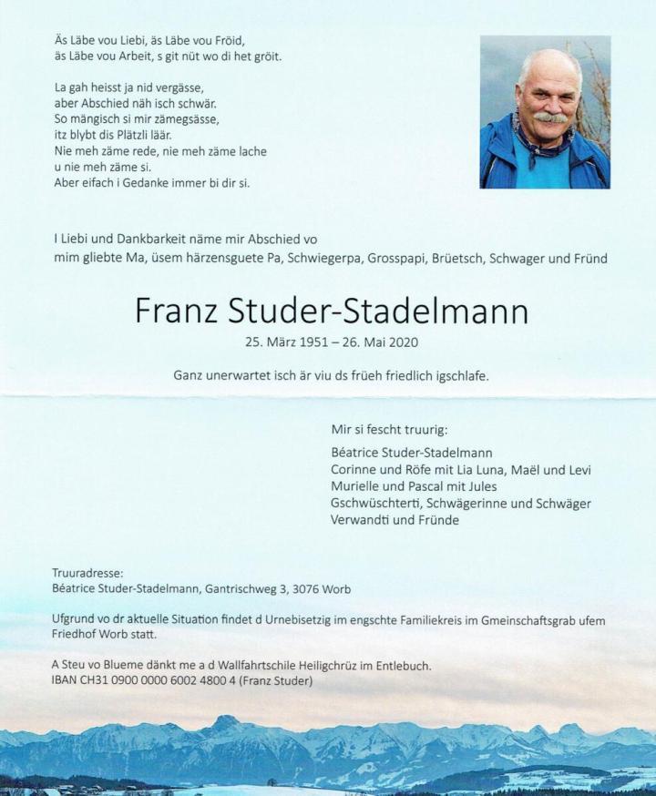 Studer Franz