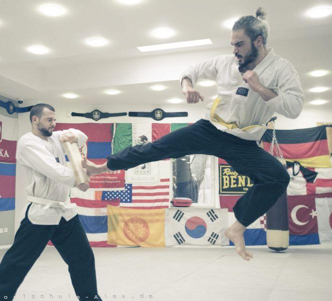Taekwondopruefung Diamantis & Onur 2017-8259