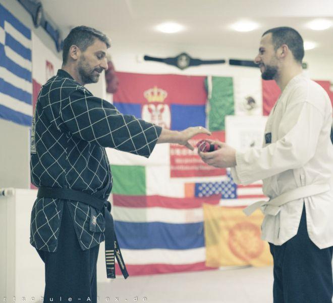 Taekwondopruefung Diamantis & Onur 2017-8272