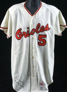 Brooks Robinson 1970 game jersey