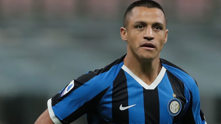 Manchester United manager Ole Gunnar Solskjaer says farewell to attacker Alexis Sanchez ahead of the Chile international's permanent move to Inter Milan.