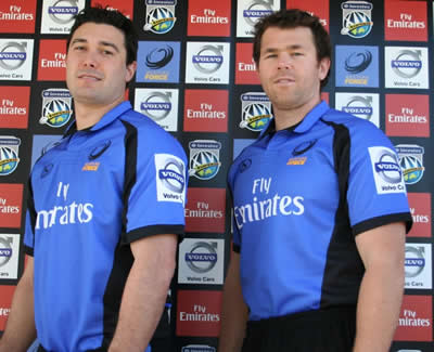New Force jersey - Cameron Shepherd and David Pusey