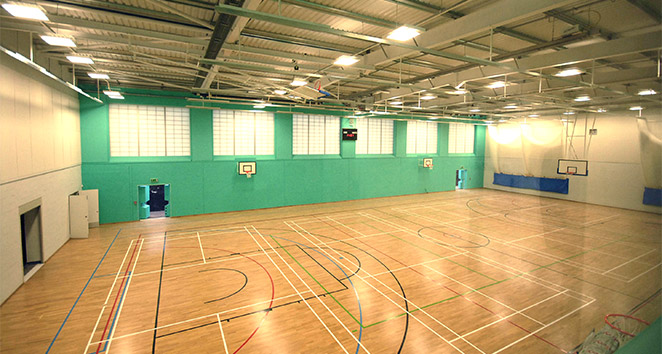 Ball Hall Completes Latest State Of The Art Sports Centre