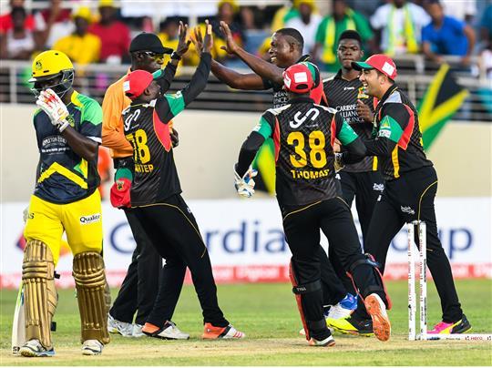 Jamaica Tallawahs v St Kitts & Nevis Patriots - Hero Caribbean Premier League (CPL) – Match 17