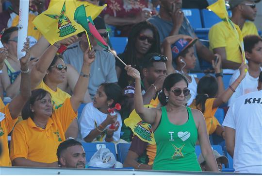 Barbados Tridents v Guyana Amazon Warriors - Hero Caribbean Premier League (CPL) – Match 28