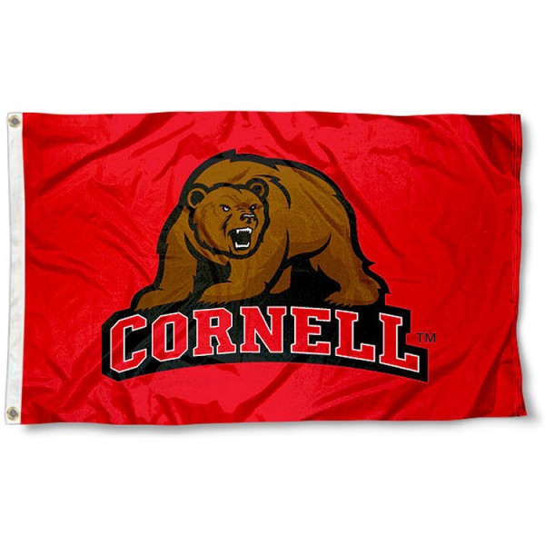 Cornell Big Red Flag and Flag for Cornell Big Red
