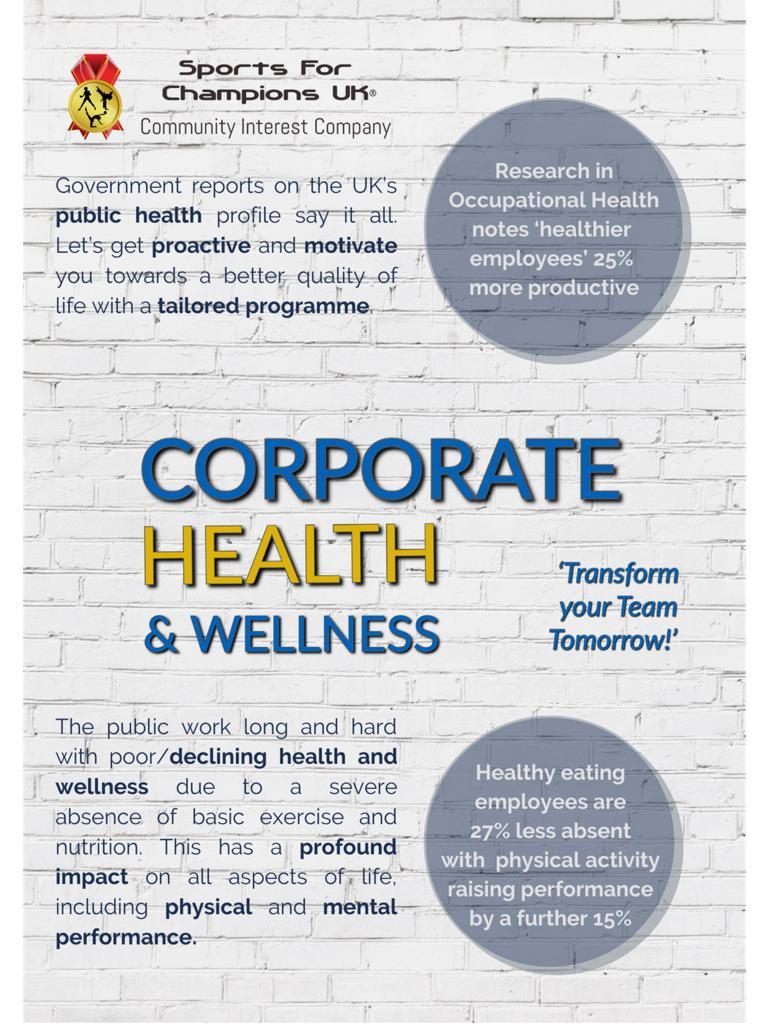 Corporate Health and Wellness