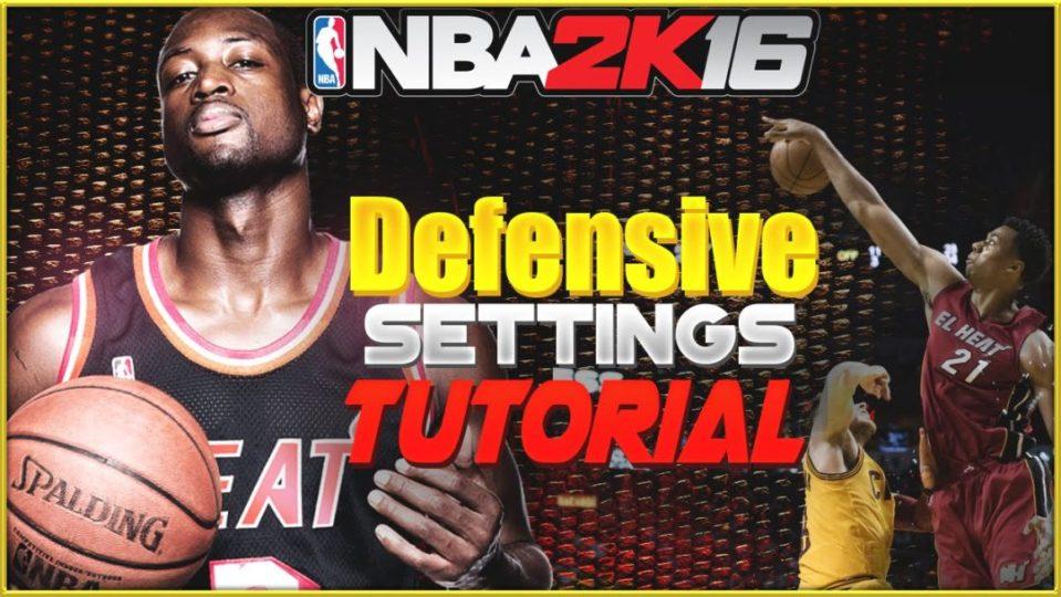 nba 2k16 defensive tips defensive settings
