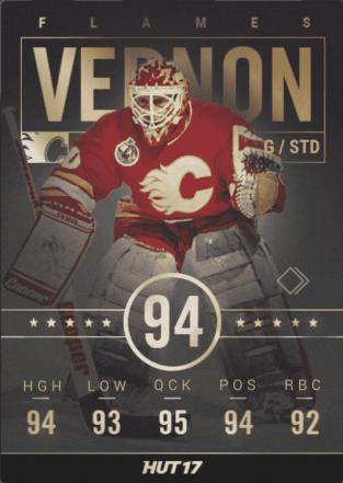 Calgary Flames: Mike Vernon