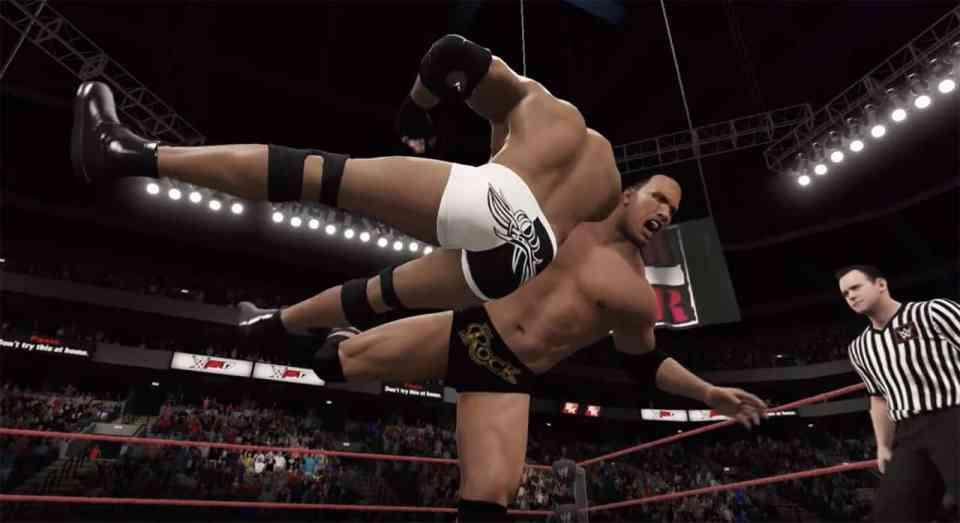 WWE 2K17 PC Patch 1.01