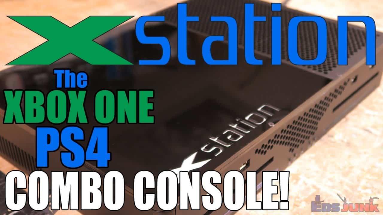 Man Builds A PlayStationXbox Combo Machine Sports