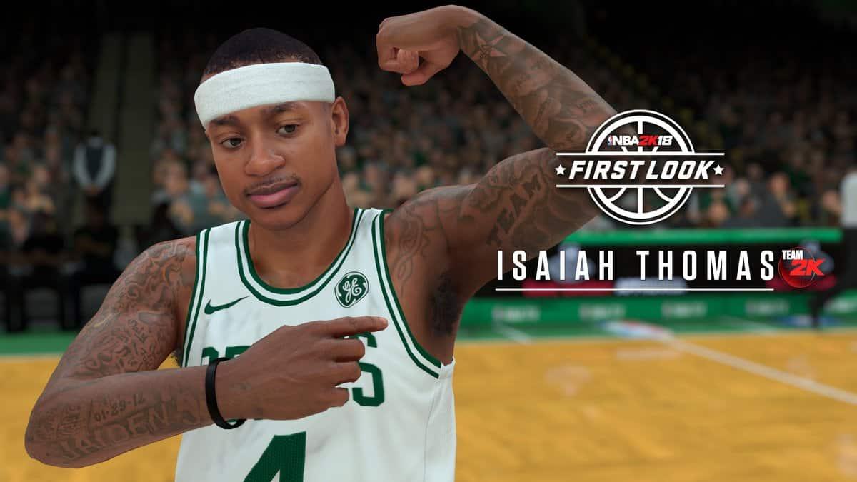 Isaiah Thomas NBA 2K18