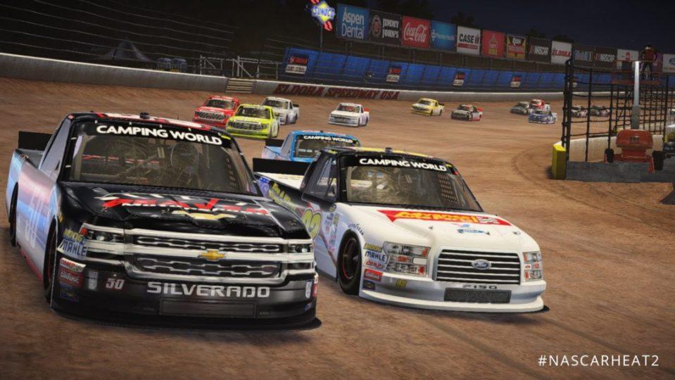 NASCAR Heat 2 Career Mode