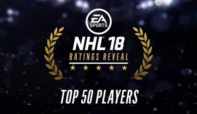 NHL 18 Ratings