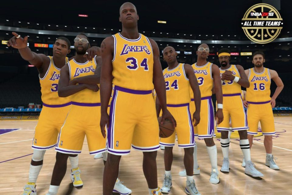 New Classic Teams NBA 2K18