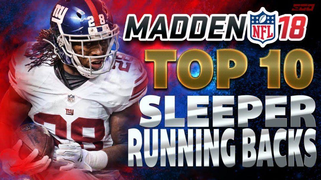 Madden 18Top 10 Sleeper RBs