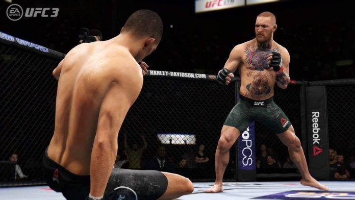 UFC 3 Active Knockdown