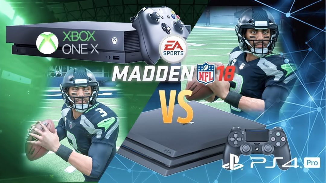 Comparing Madden 18s Graphics On XBox One X Vs
