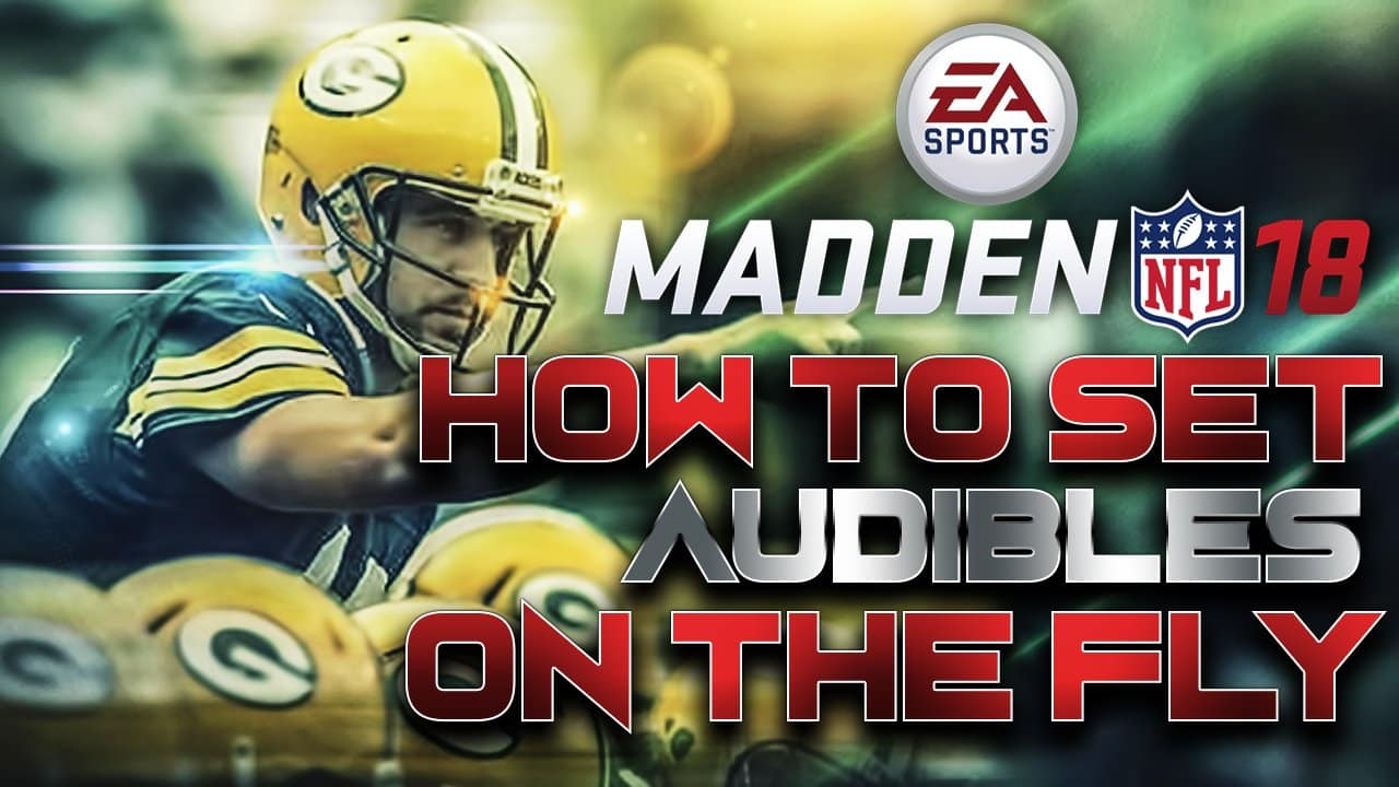 madden 18 audibles on the fly