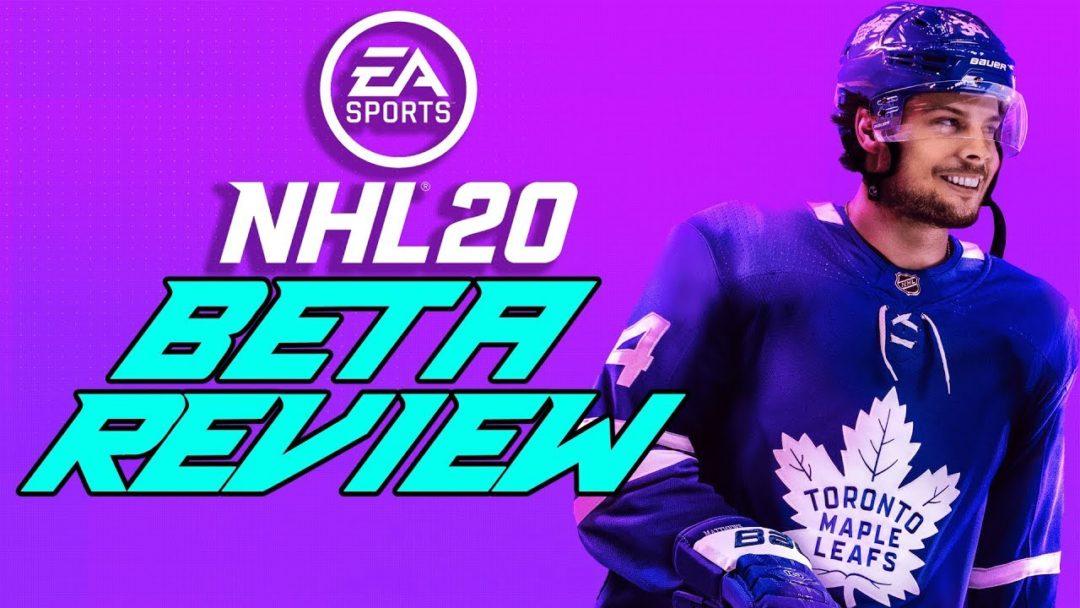 NHL 20 Beta Review