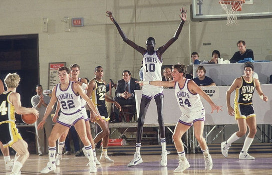Manute Bol tallest basketball player