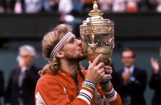Björn Borg Most Grand Slam Singles Title Winners