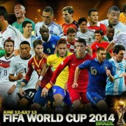 World Cup 2014 Group Stage Schedule