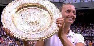 Petra Kvitová Wimbledon Ladies' Singles Champion