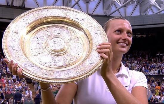 Petra Kvitová Wimbledon Ladies' Singles Champions