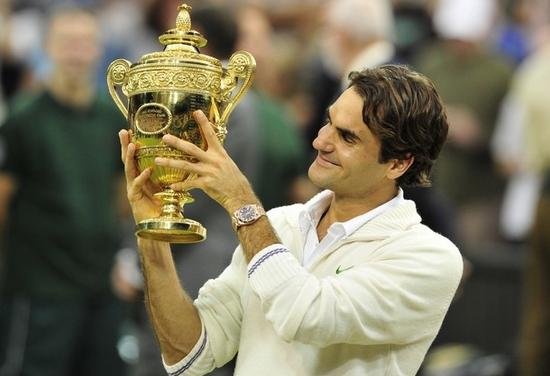 Roger Federer Wimbledon Gentlemen's Singles Champions