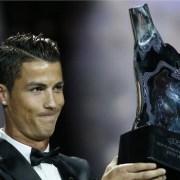 Cristiano Ronaldo won UEFA Best Player in Europe Award