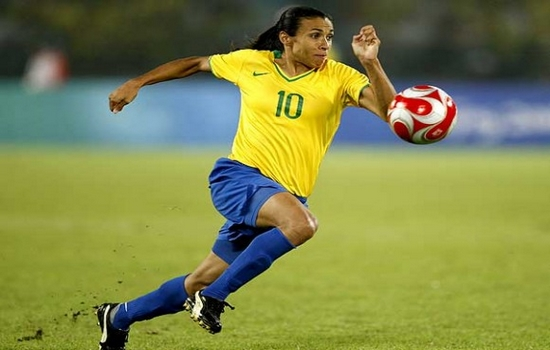Marta one of the Top Goal Scores in FIFA Women's World Cup