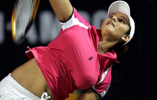 Sania Mirza Hottest Female Indian Players