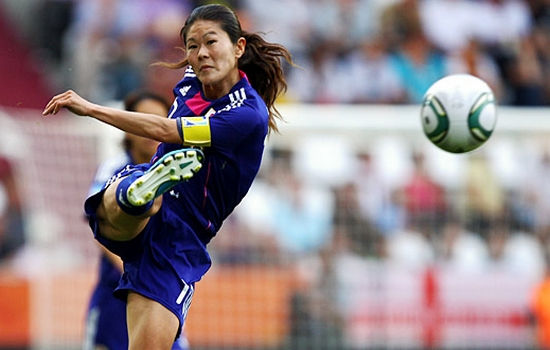 Homare Sawa Best Female Soccer Players
