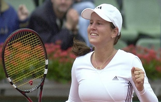 Henin-knocked-out-by-Qualifier-Kapros 10 Biggest French Open Upsets of All-Time