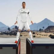 Cristiano Ronaldo enters the world of GTA V