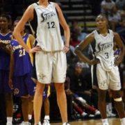 Malgorzata Dydek tallest Female Basketball Players
